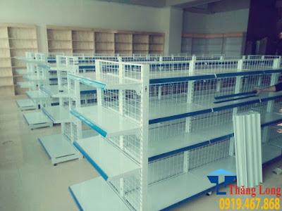 Lắp đặt giá kệ siêu thị tại Yên Lý, Diễn Châu