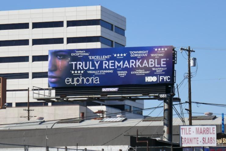 Euphoria 2019 HBO FYC billboard