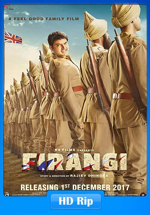 Firangi 2017 Hindi 720p HDTV x264 | 480p 300MB | 100MB HEVC