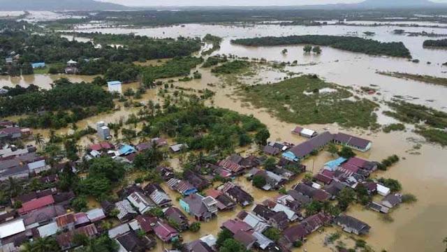 Penyebab Banjir Kalsel karena 139 Hektar Hutan Hilang, Ini Kata Lapan