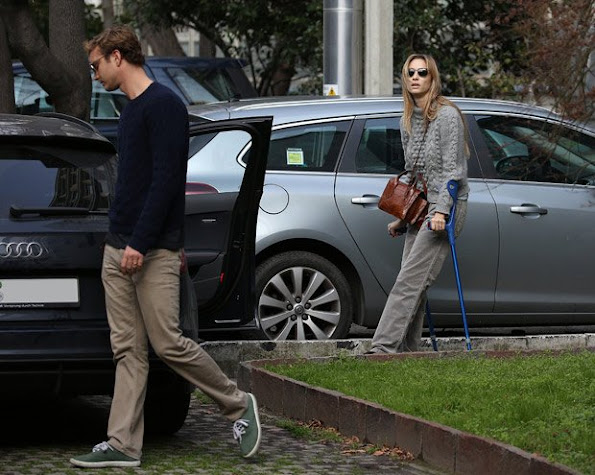 Beatrice Borromeo, wife of Pierre Casiraghi, suffered a car accident in Milan. Beatrice was spotted leaving the hospital La Madonnina in Milan