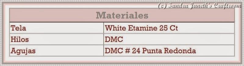 Lista de Materiales SJSC - Conejita Anni, Esquema Gratis