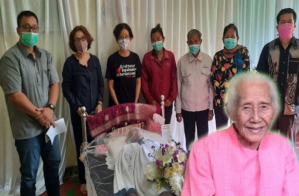 Meninggal 101 Tahun, Ini Pesan Istri Ephorus HKBP Alm.Pdt.Justin Sihombing