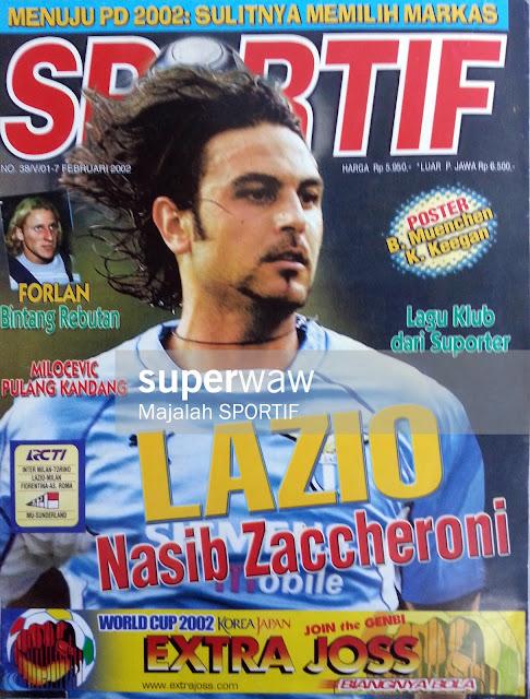 Majalah SPORTIF Lazio Nasib Zaccheroni