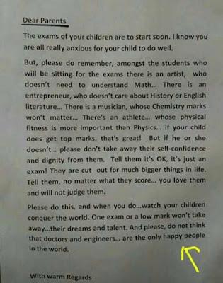 Viral Surat Kepala Sekolah untuk Wali Murid