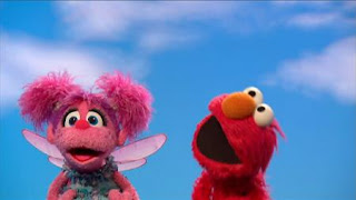 """Elmo and Abby sing """"I Can Sing."""" Sesame Street Episode 4326 Great Vibrations season 43"""