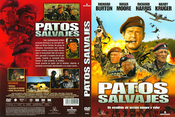 Patos salvajes 1978 | Caratula. cine clásico