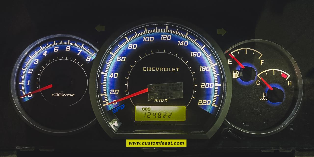 speedometer chevrolet optra