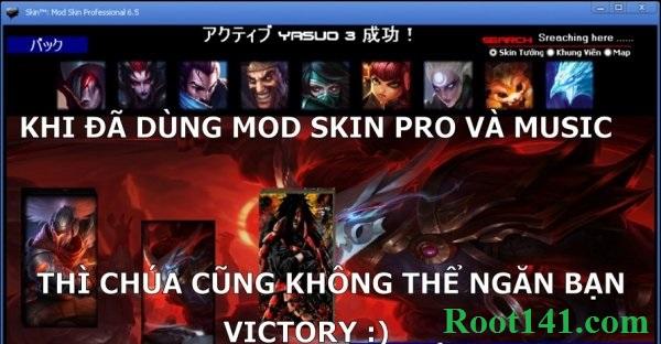 Mod skin LOL Pro Liên Minh Huyền Thoại