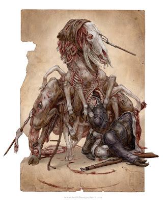 PRIPYAT BEAST by Keith Thompson