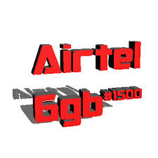 New Airtel Data subscription 6GB for N1500