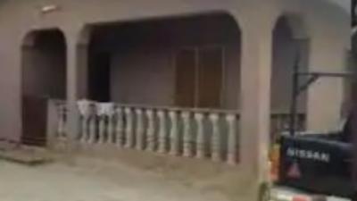 Strange Skeleton Found Kneeling In Pastor's House (Photo)