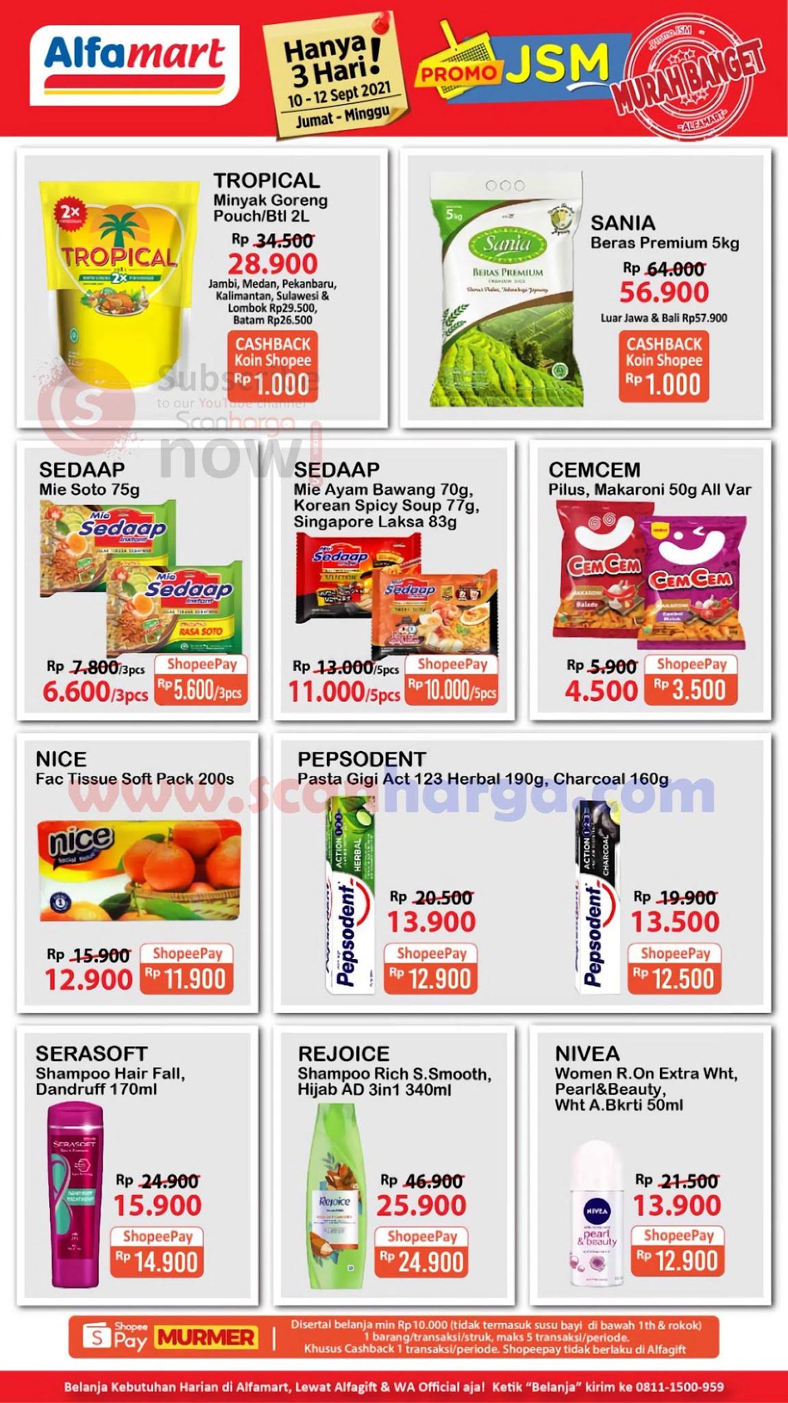 Katalog Promo JSM Alfamart Terbaru 10 - 12 September 2021