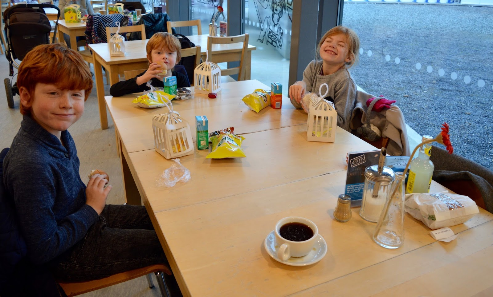 Frost of Forgetfulness | A FREE Winter Trail and activity at Woodhorn Museum in Northumberland (continues until 23rd December) - woodhorn cafe kids' lunch box