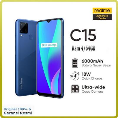 Realme C15 Gadget Terbaru Paling Banyak Dicari