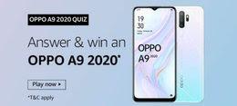 Amazon Oppo A9 2020 Quiz Answer Win - Oppo A9 Smartphone