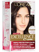 cat rambut L'Oreal Paris Excellence Cream