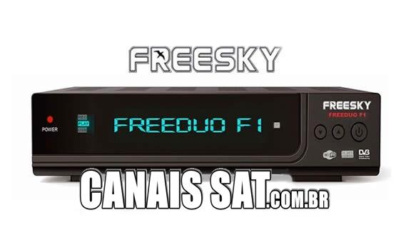 Freesky Freeduo F1 Atualização V2.69 - 01/06/2021