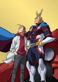 تقرير الحلقة الخاصة من اكاديمية بطلي: أول مايت يرتفع Boku no Hero Academia the Movie: Futari no Hero Specials