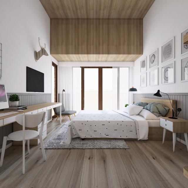 desain kamar tidur romantis