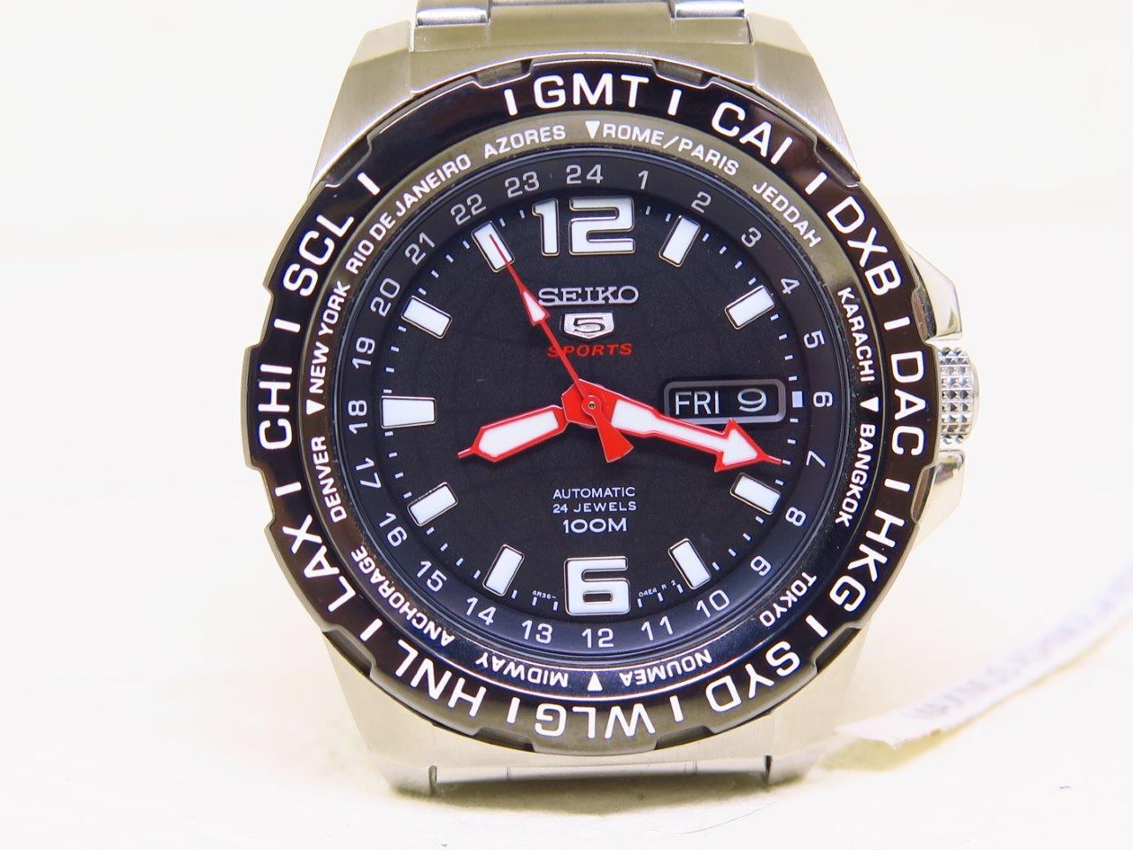 SEIKO 5 SPORTS GMT WORLDTIME - SEIKO SRP685K1 - AUTOMATIC