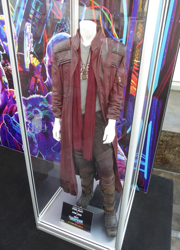 Chris Pratt Guardians of the Galaxy 2 StarLord costume