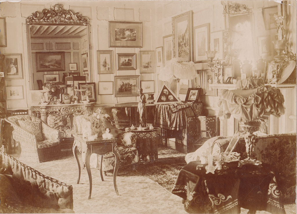 Late Victorian interior, UK, ca. 1900s ~ vintage everyday