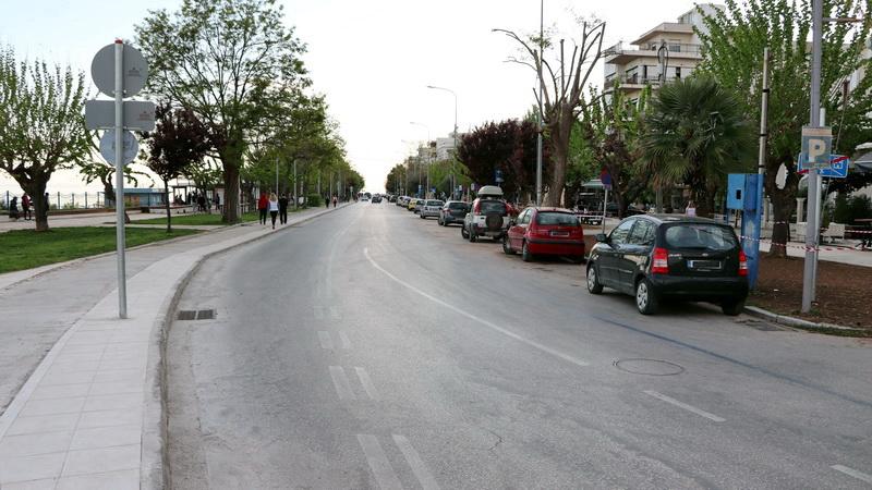 Κλειστή για τα οχήματα η παραλιακή της Αλεξανδρούπολης κάθε Παρασκευή από τις 8:00 μ.μ. και για όλο το Σαββατοκύριακο