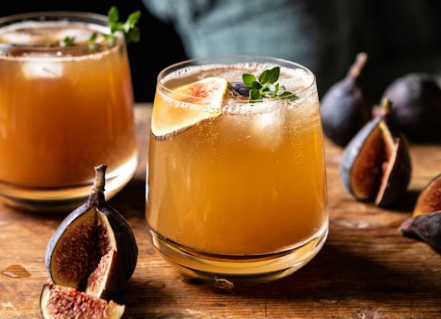 Fig Dark and Stormy #drinks #alcohol