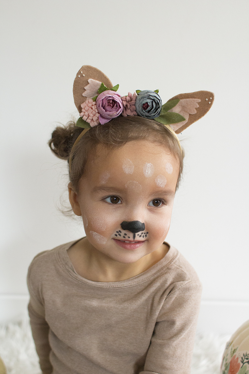 DIY Deer Toddler Costume