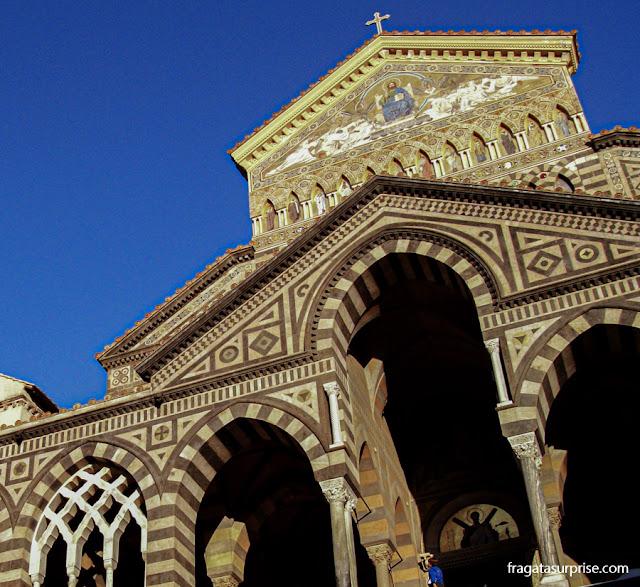 Catedral de Amalfi, Costa Amalfitana, Itália