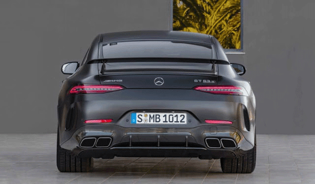 Mercedes AMG GT 4-Door Coupe Engine