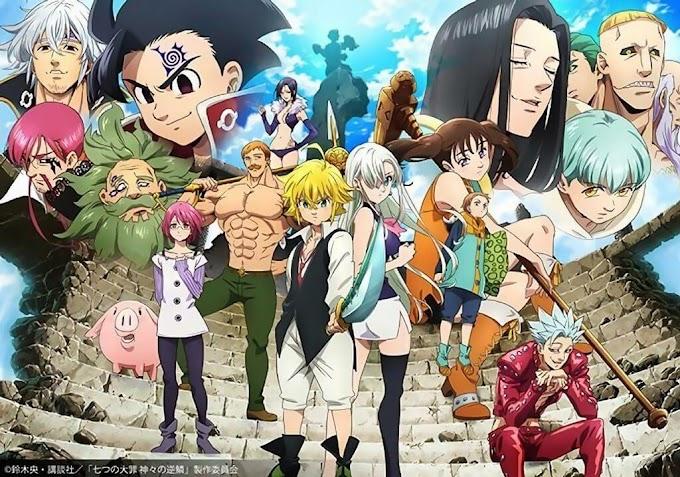 Nanatsu no Taizai : Kamigami no Gekirin (Episode 1-24 Season 3) Batch Substitle Indonesia