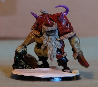 Gruesome Santa mini