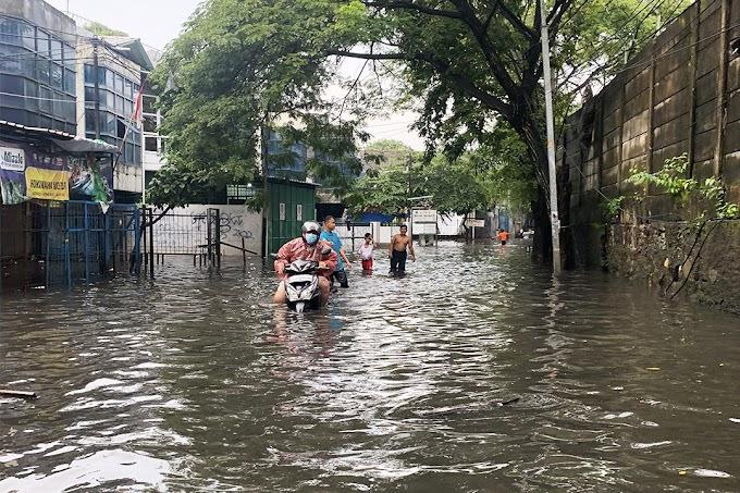 Foto Banjir di Jakarta 16 Februari 2021