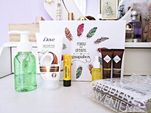 Guapabox de Septiembre beautybox beauty belleza skincare