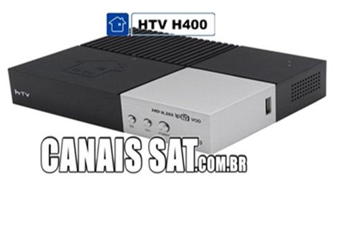 HTV H400 Atualização V2.73 - 04/01/2021