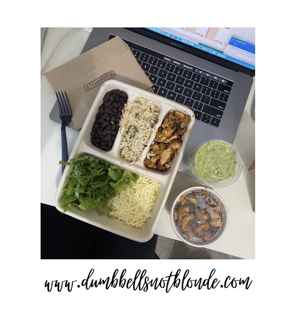 Chipotle option while dieting or weight loss cut
