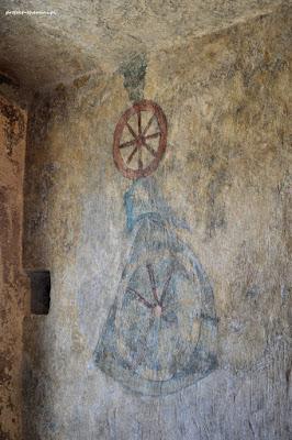 Wieża w Siedlęcinie, poziom drugi, herb von Redern