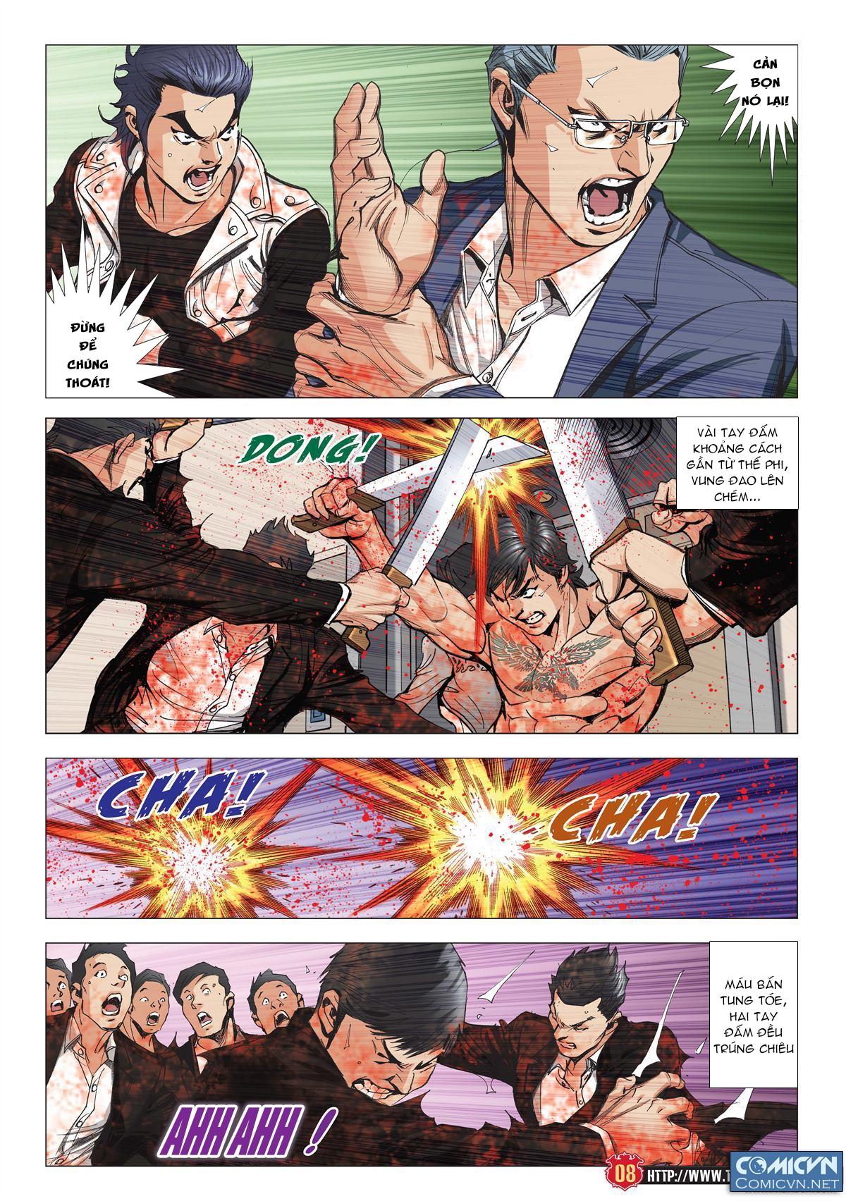 Người Trong Giang Hồ chapter 1997: triệu oánh vs đinh dao trang 6