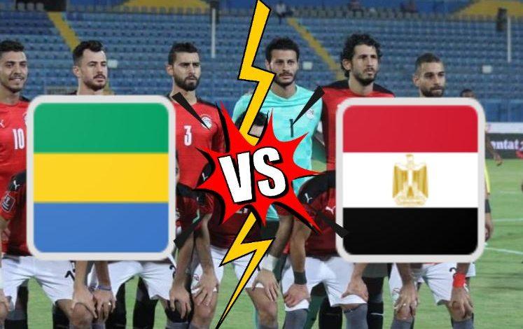 بث مباشر مشاهدة مباراة مصر ضد الجابون
