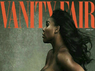 Nigerians Bash Serena Williams For Going Nude In Vanity Fair Photo Shoot