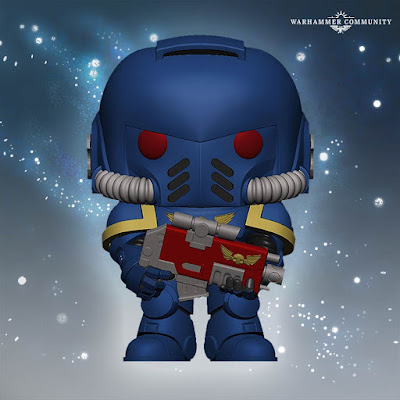 Funko Pop UltraMarine Primaris