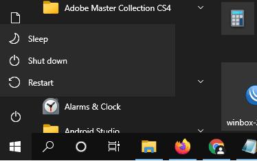 Perbedaan Efek Shutdown dan Restart pada Windows 10