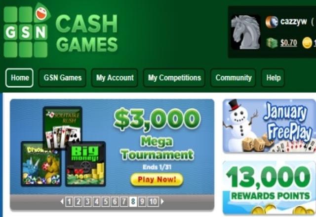 GSN Cash Games FR