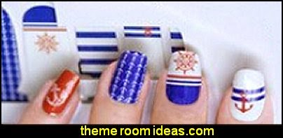 nautical themed Nail Art Sticker Nails Decal