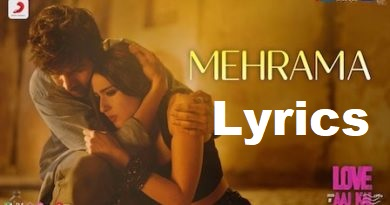 MEHRAMA LYRICS IN HINDI - Love Aaj Kal