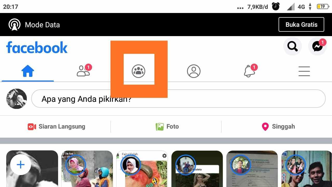 cara membagikan postingan ke banyak grup facebook