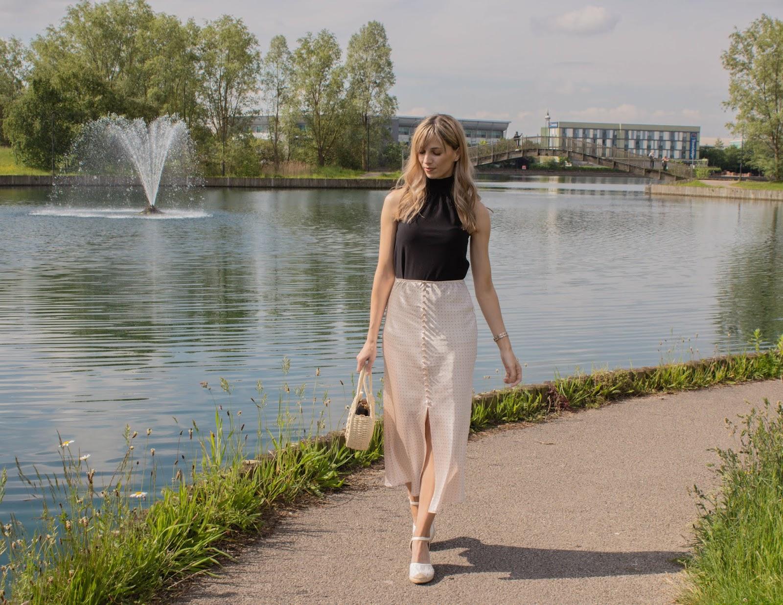 Respinning The Satin Midi Skirt For Summer