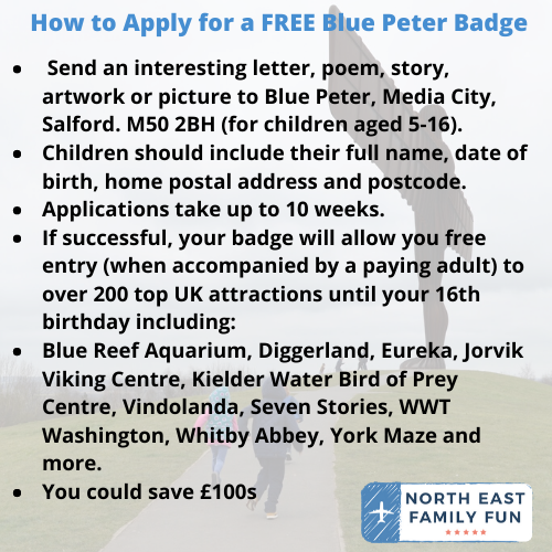 How to Apply for a FREE Blue Peter Badge and Start Saving Money on Days Out